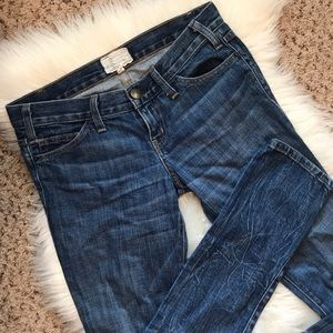 Current/Elliott High Low Boyfriend Jeans